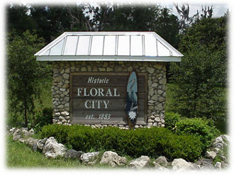 Floral City Sign